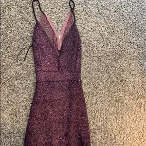 Dresses & Skirts - Dress plum and pink new with tags
